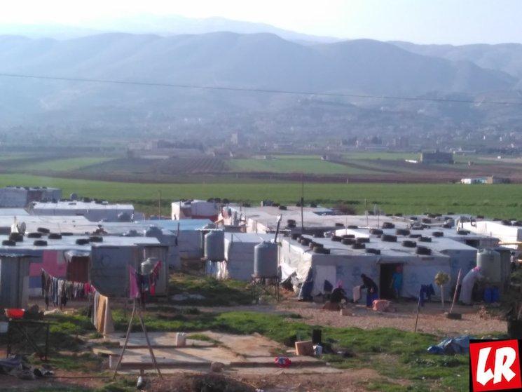 Баальбек, лагерь сирийских беженцев, сирийцы, Ливан