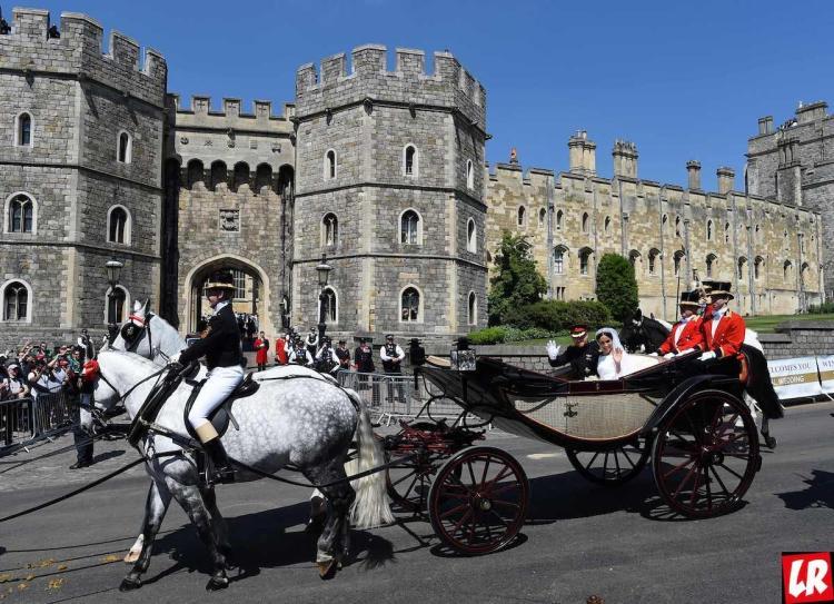 Свадьба принца Гарри, карета, замок