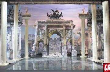 Национальная опера Украины в июне, афиша, Киев, цезарь