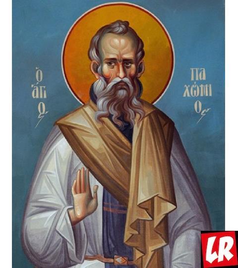 Пахомий Великий, икона