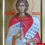 фишки дня, мученица Пелагия Тарсийская