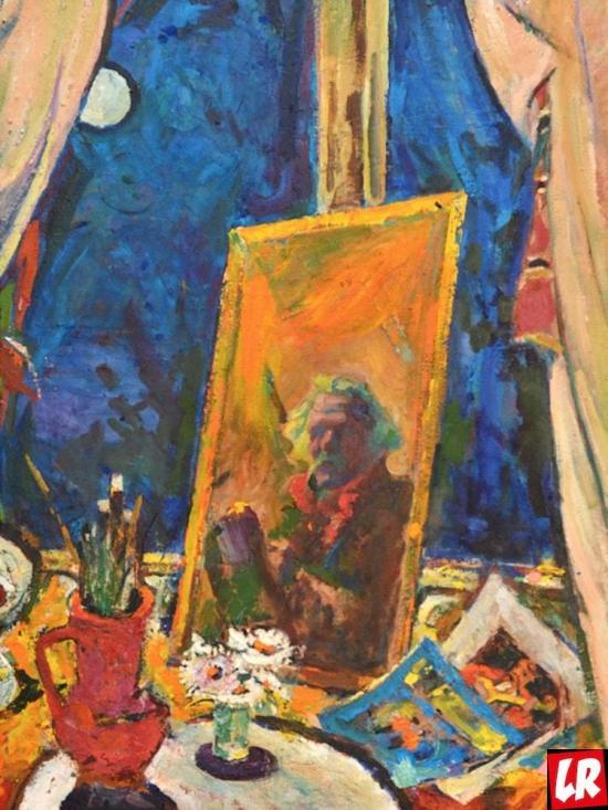 натюрморт, автопортрет, Василий Забашта, художник, живопись, Украина