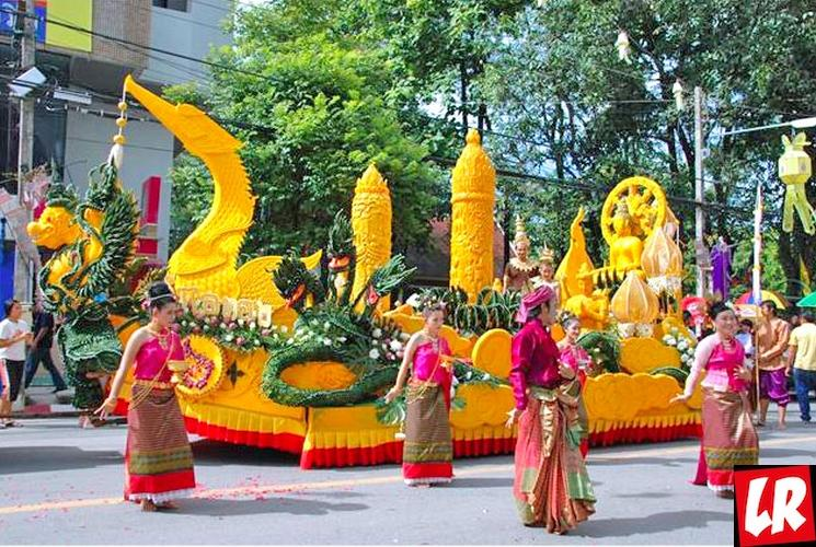фишки дня - 28 июля, фестиваль свечей Таиланд, Кхао Пханса