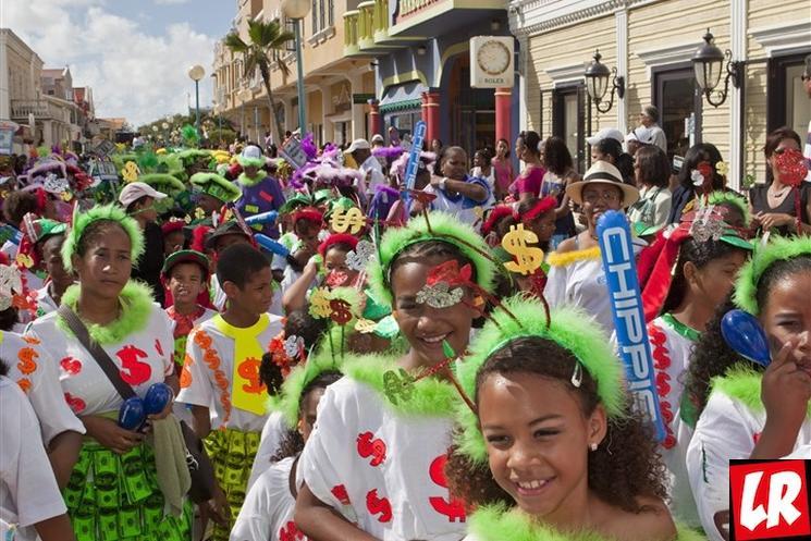 фишки дня - 30 июля, Карнавальный понедельник остров Саба