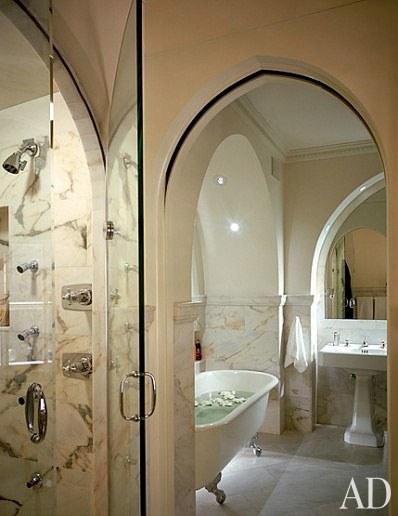 Мадонна, Нью-Йорк, квартира, ванная