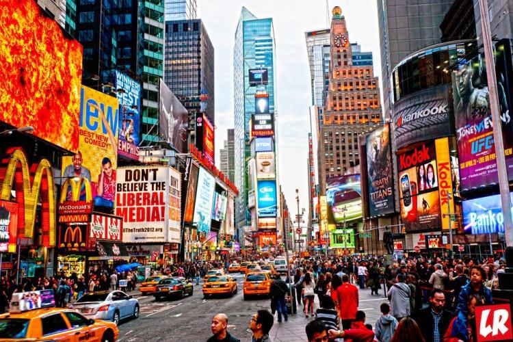 Нью-Йорк, Таймс Сквер