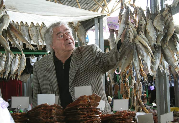 Карцев на Привозе, рыба, прилавок