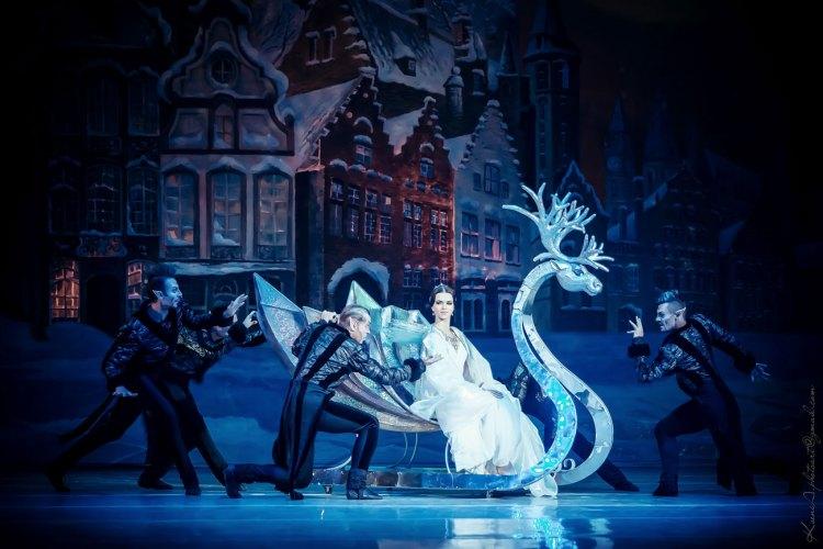 Национальная опера в ноябре 2018, снежная королева
