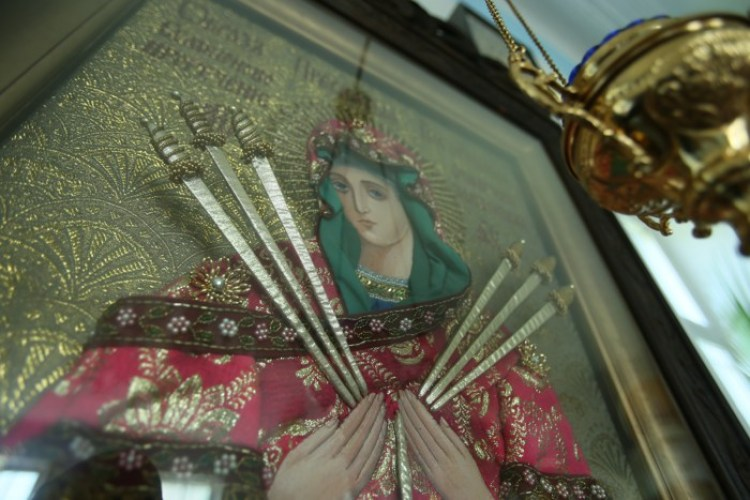 икона Семистрельная, Полтавский монастырь, спецпроект Тайны монастырей
