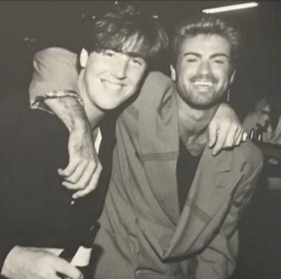 Дэвид и Джордж Майкл дружили с юности