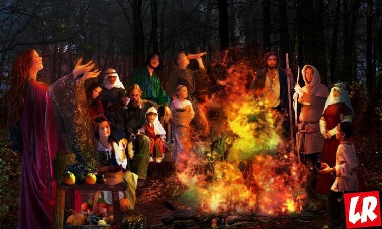 фишки дня - 31 октября, Самхэйн, праздники кельтов, праздники Ирландии