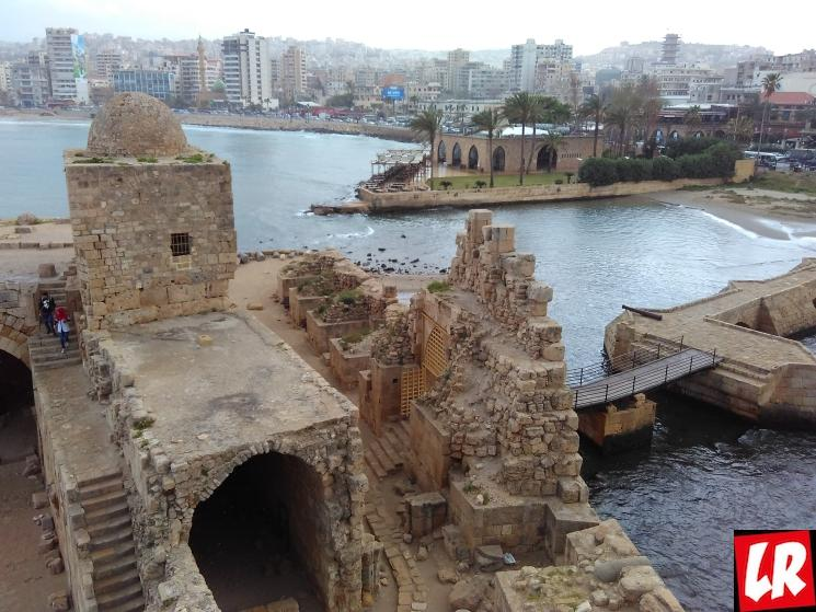 Ливан, Сайда, Сидон, крепость в Сидоне, путешествие в Ливан