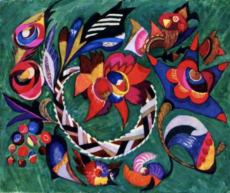 художница, Красный май, Анна Собачко-Шостак, живопись, Украина, картины,