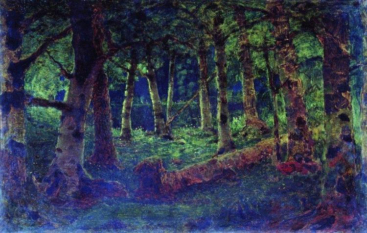 Куинджи, картины, Березовая роща (Лес)