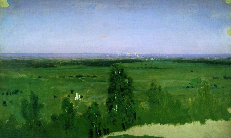 Куинджи, картины, Вид на Москву