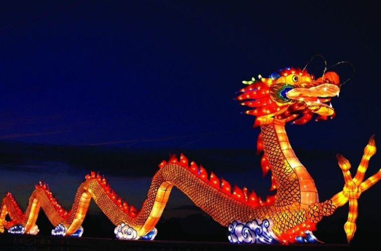 фестиваль, китайские фонари, киев