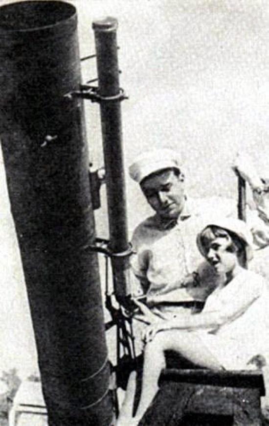 Николай Барабашов, космос, ученый, Харьков, с дочкой