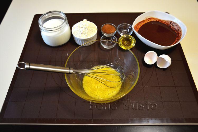 рецепт, блины, шоколад, творог, завтрак