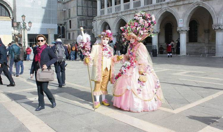 Венеция, Италия, Венецианский карнавал