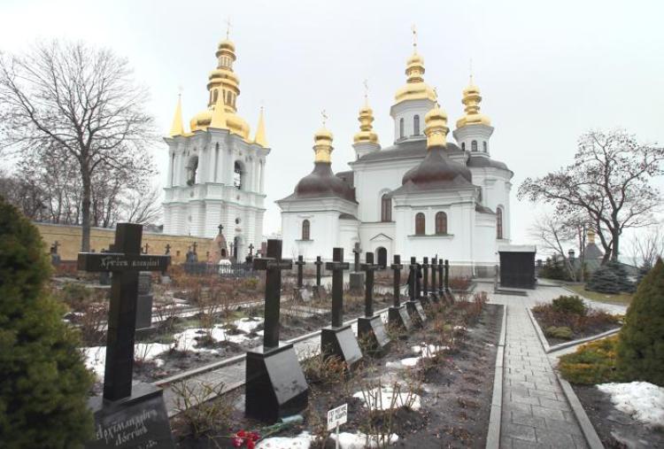 Киево-Печерская Лавра, кладбище, олимпиада арзамасская