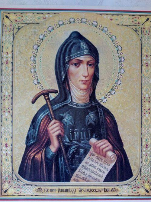 святые Киева, Олимпиада Арзамасская, собор киевских жен, хранительницы киева