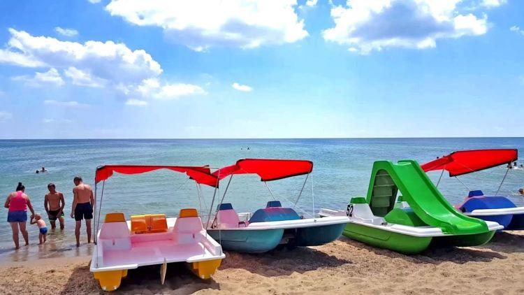 Грибовка, курорт, пляж