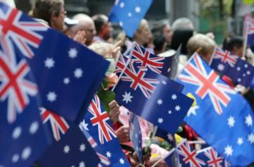 фишки дня, день флага Австралии