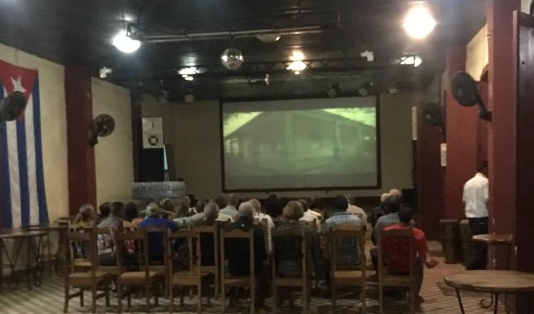 Куба, Долина Виньялес, старое кино