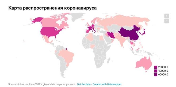 коронавирус, страны