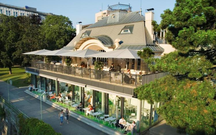 Вена, ресторан Steirereck