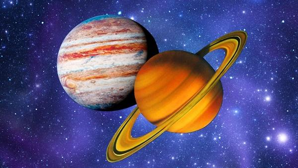 Эра Водолея, Юпитер, Сатурн