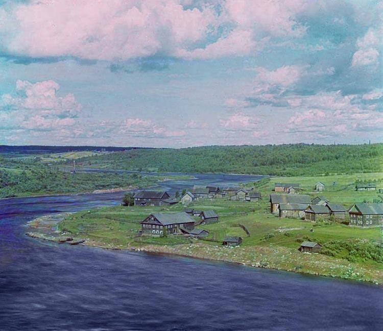 Порог Медведец, Река Свирь, 1909 год