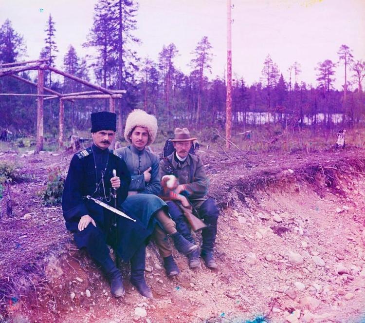 Прокудин-Горский,, Карелия