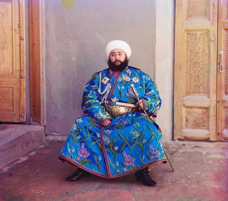 Бухарский эмир, Узбекистан