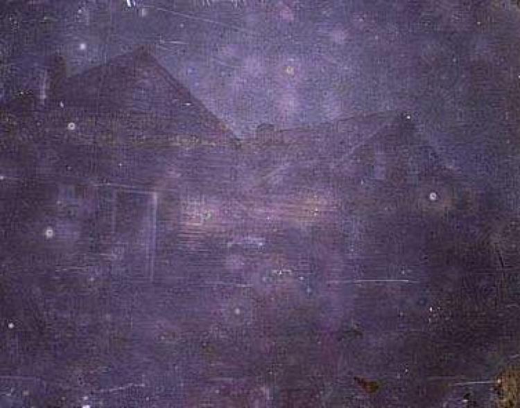 Первые цветные фото в истории, Хилл, дом