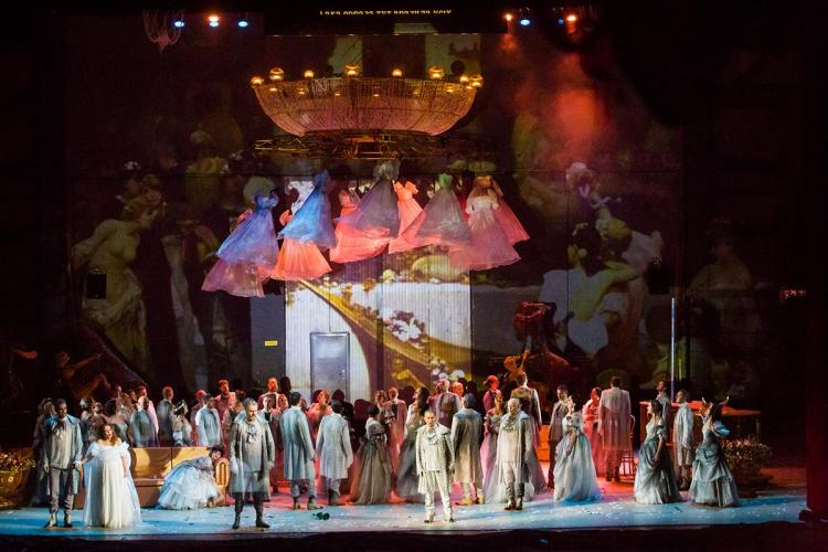 La Traviata, сцена, Одеса, технології
