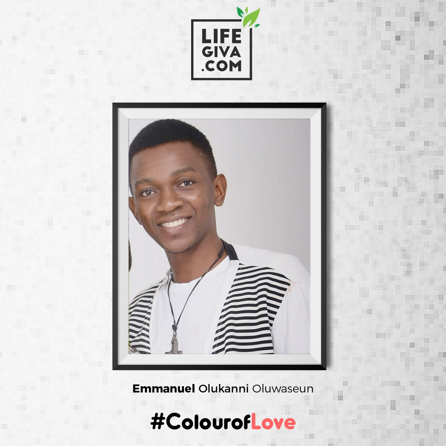 Forget Me Not - Emmanuel Olukanni #ColourOfLove