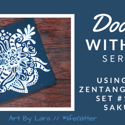 Doodle With Me Series – Sakura Zentangle® Tool Set #10