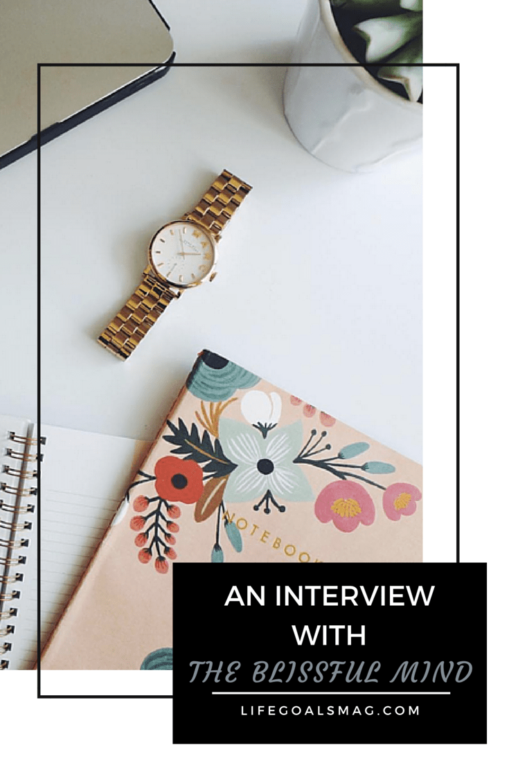 Interview with Catherine of The Blissful Mind on Minimalism, Productivity, and Blogging