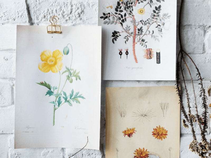 place handmade artwork for more hygge in your home