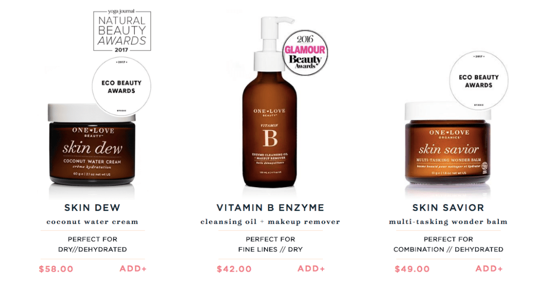 One Love Organics Best Sellers For Clean Beauty