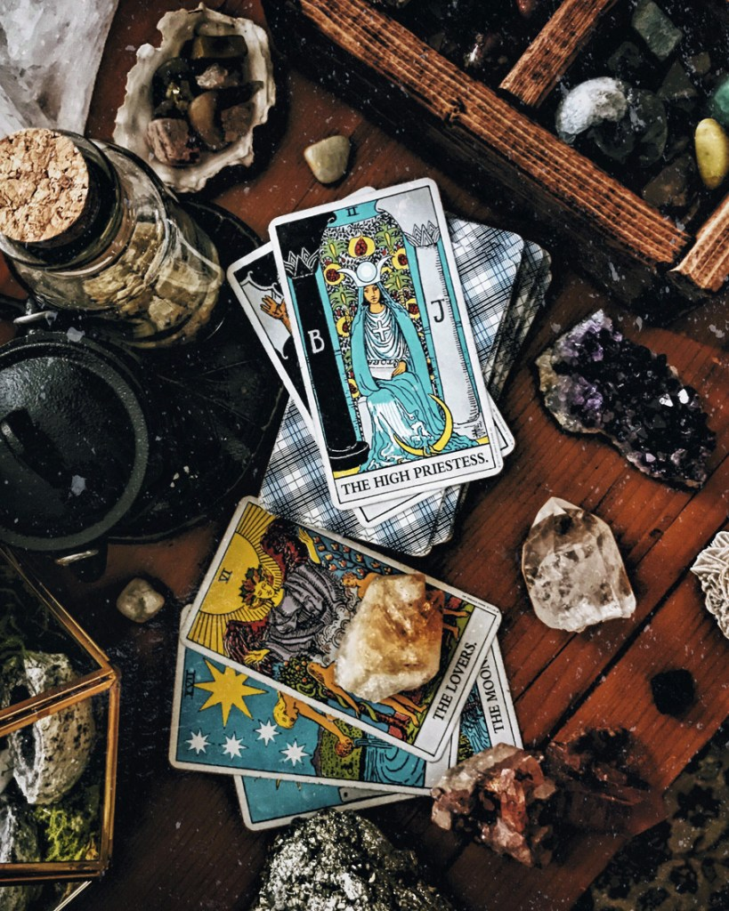 tarot guide for beginners. how it can be used to further your spirituality and as a self-awareness tool.