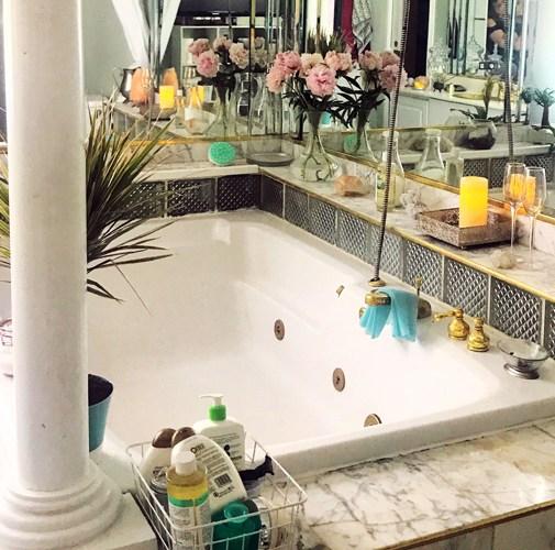 dreamy bath