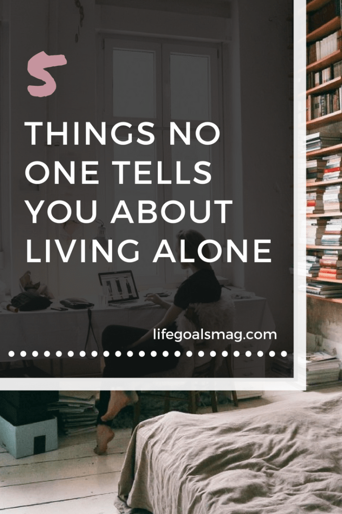 what it's really like to live alone. tips for making the best of apartment living by yourself
