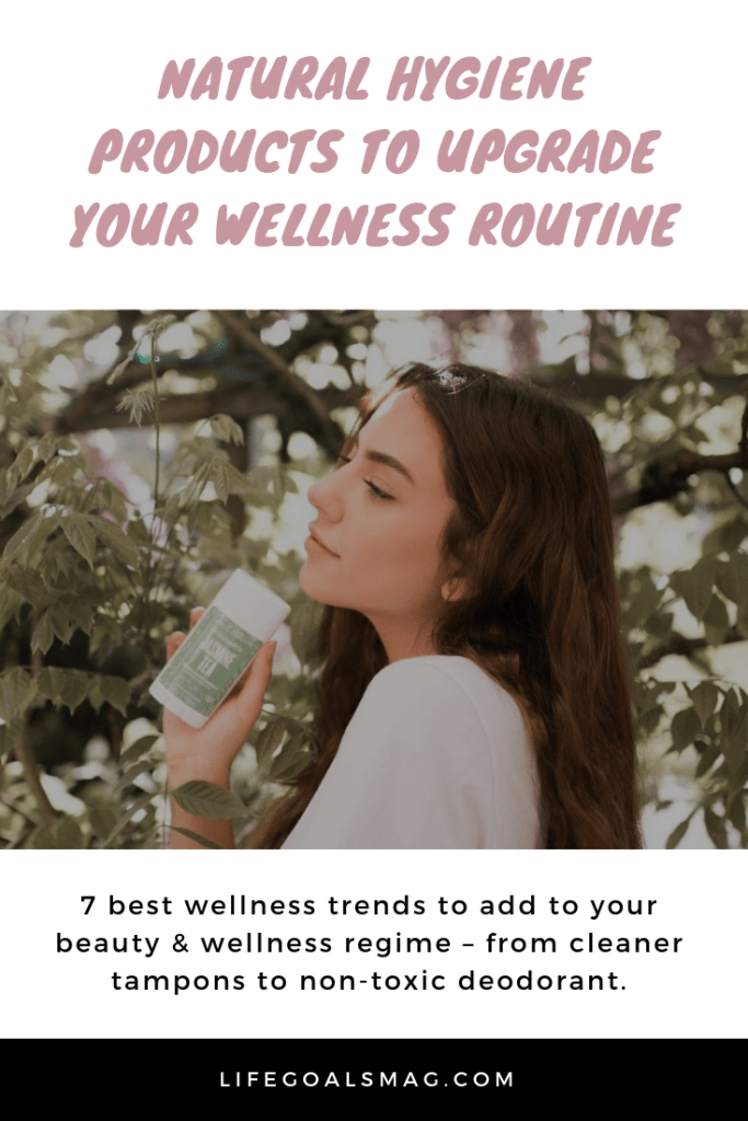7 best wellness products to add to your beauty & wellness regime – from cleaner tampons to non-toxic deodorant.