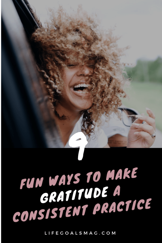 how to make gratitude consistent and fun - how to show appreciation for family, your partner, and loved ones and have an attitude of gratitude. #gratitude #kindness