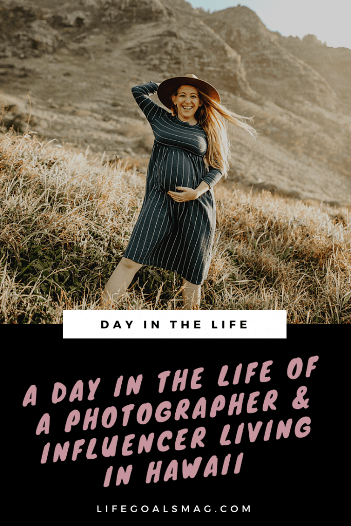 A Day in the Life of a Photographer and Influencer living in Hawaii. What an office day looks like for a traveling, destination wedding photographer with social media and teaching business