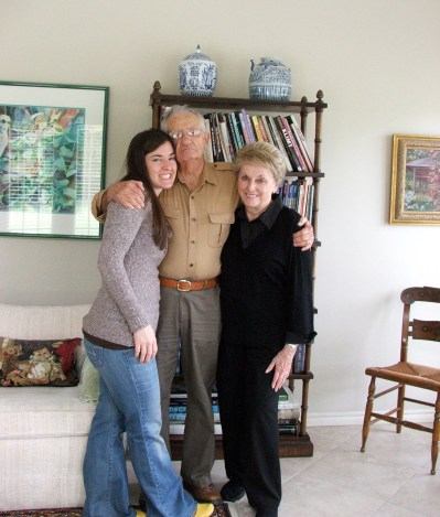 I lived with these grandparents for five and a half years during undergrad. So, they are kinda like parents.
