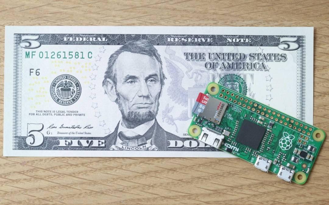 Najjeftiniji kompjuter na svetu: Raspberry Pi Zero