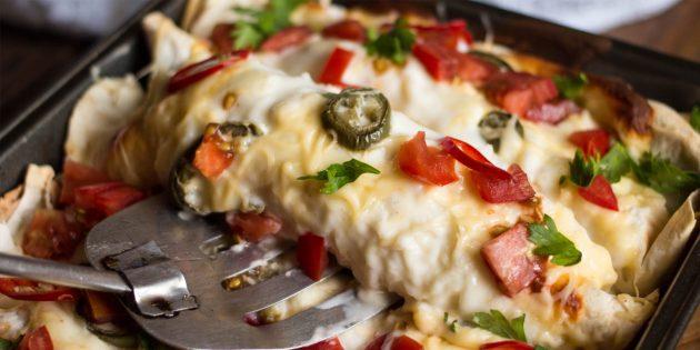 Идеи для завтрака: запечённая энчилада
